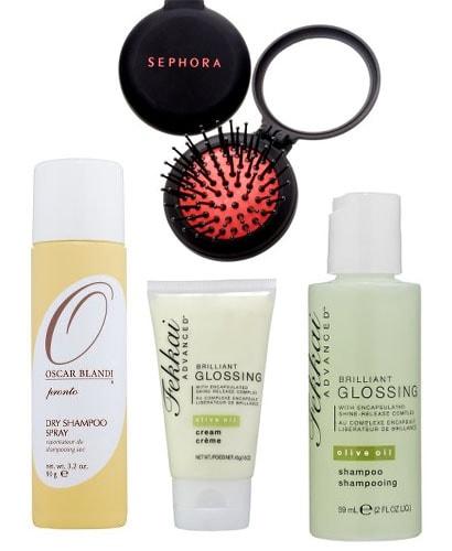 Travel Hair Supplies