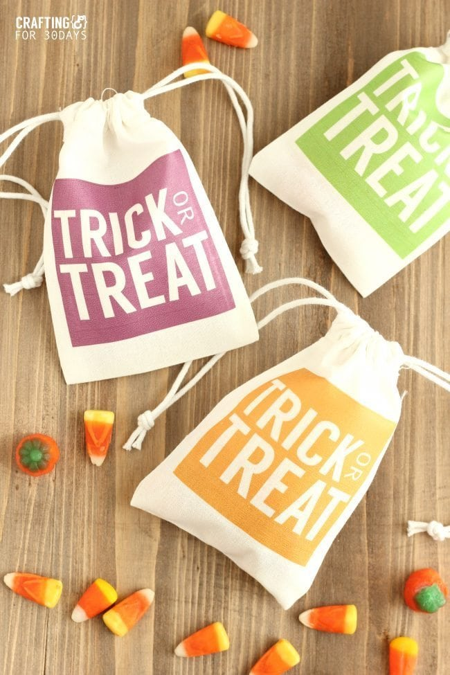 halloween diy treat bags