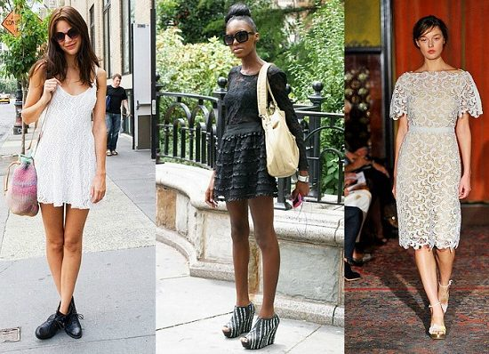 Trend watch lace