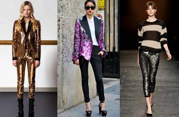 Trend watch sequins