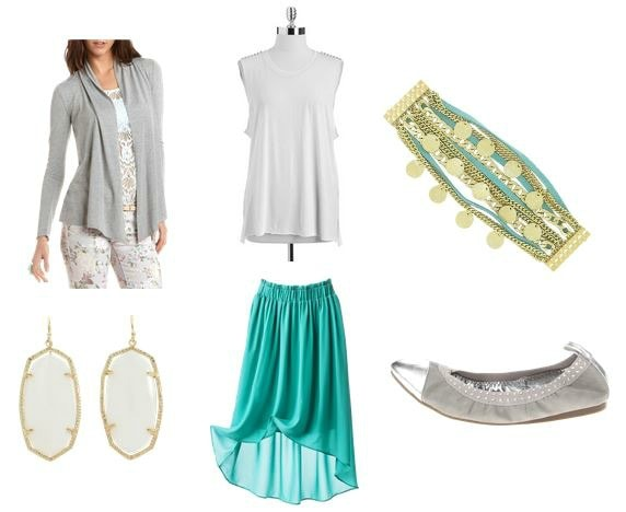 Trevi fountain inspired outfit