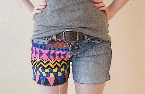 Geometric shorts cover photo