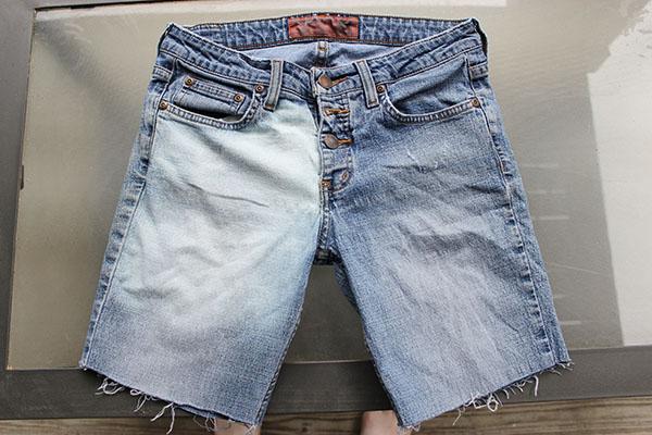 Geometric shorts step one