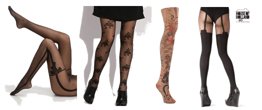 Trompe l'oeil tights