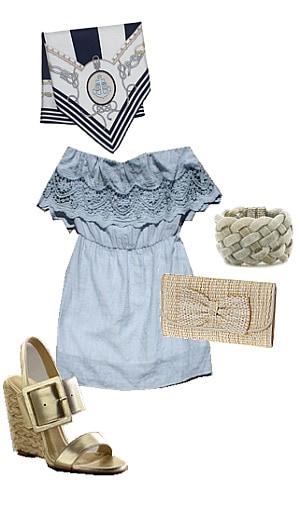 turban nautical outfit