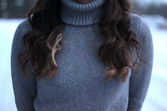 Turtleneck street style look