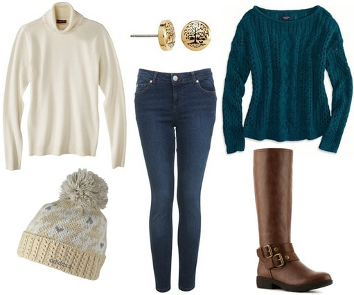 Turtleneck sweater outfit 1