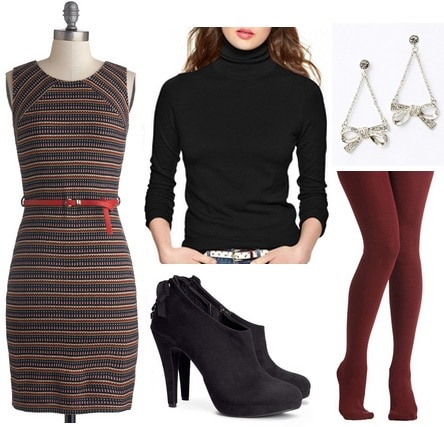 Turtleneck sweater outfit 4