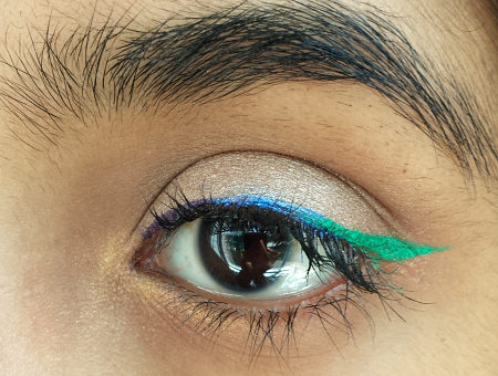 mermaid eyeliner
