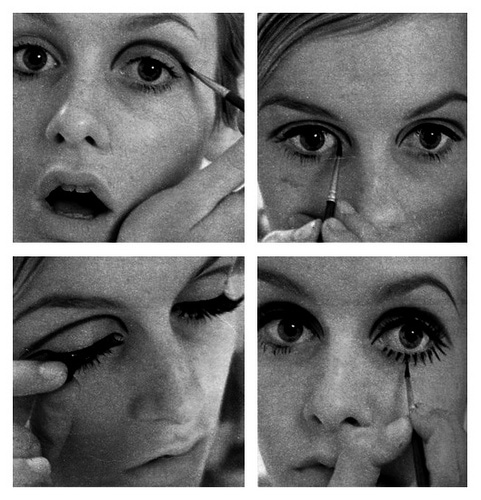 Twiggy Eye Makeup