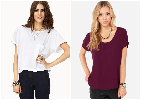Two boxy top