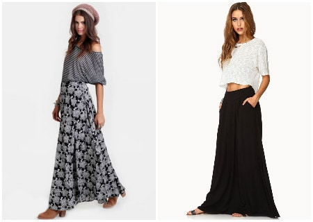 Two maxi skirts