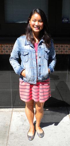 College student fashion at UC Berkeley