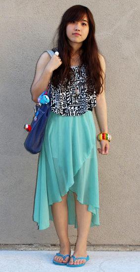 UCLA student style - Adriana