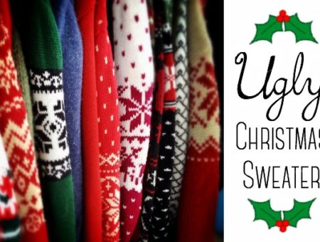 Ugly Christmas sweater outfit ideas