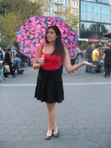 Marc by Marc Jacobs Pink Umbrella