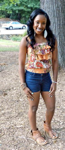 College fashionista from University of North Carolina Chapel Hill