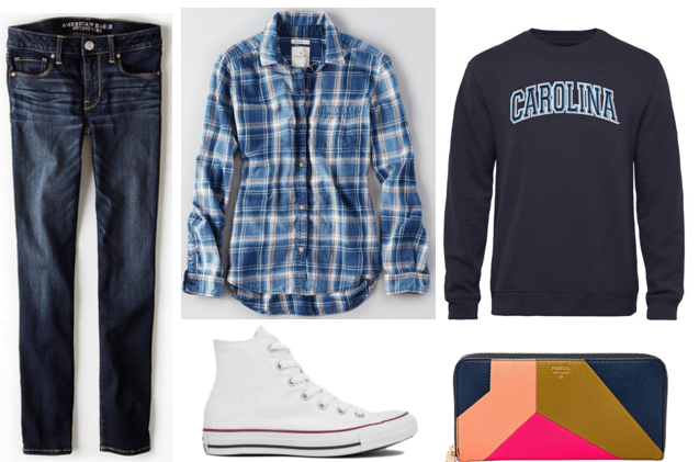 UNC Outfit