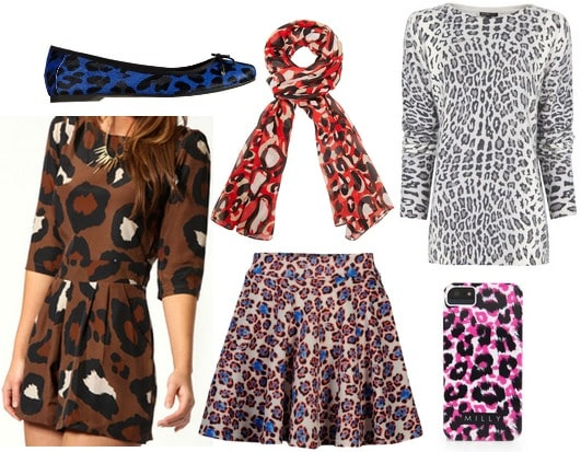 Unconventional leopard print fall 2013 trend