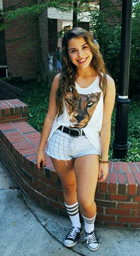 University of Florida street style - College fashionista Morgan