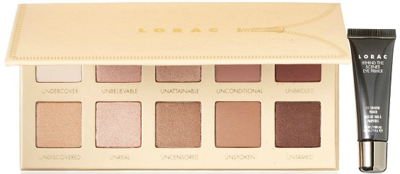Unzipped eyeshadow palette