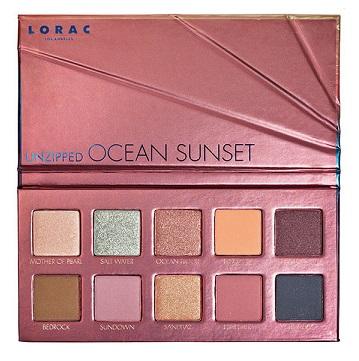Lorac Unzipped Ocean Sunset Palette