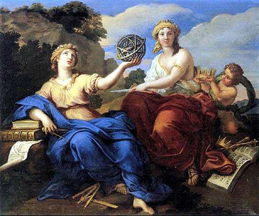 Uranie et Melpomene