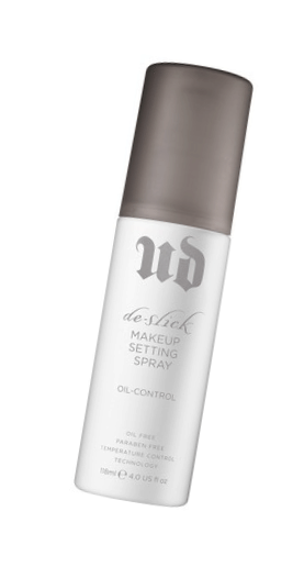 Urban Decay De-Slick Makeup Setting Spray - 7 Makeup Products I Wear Almost Every Day