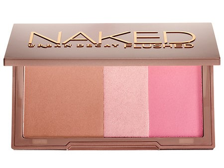 Urban Decay Naked Flushed in Color