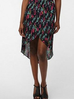 Urban Outfitters high-low skirt