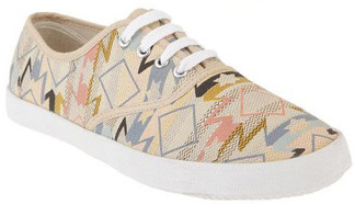 Urban Outfitters Aztec Plimsoll Sneaker