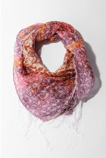 Urban Outfitters Floral and Paisley Scarf