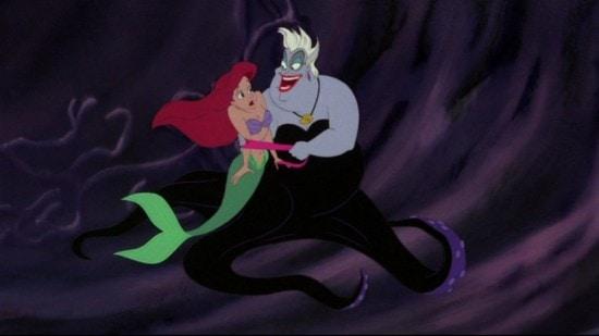 Ursula singing Poor Unfortunate Souls