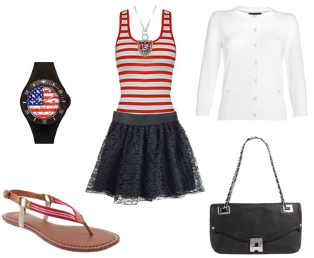 FIFA World Cup Fashion - United States outfit