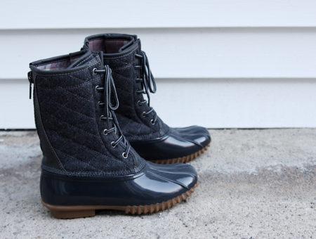 Madden Girl x Kohl's duck boots