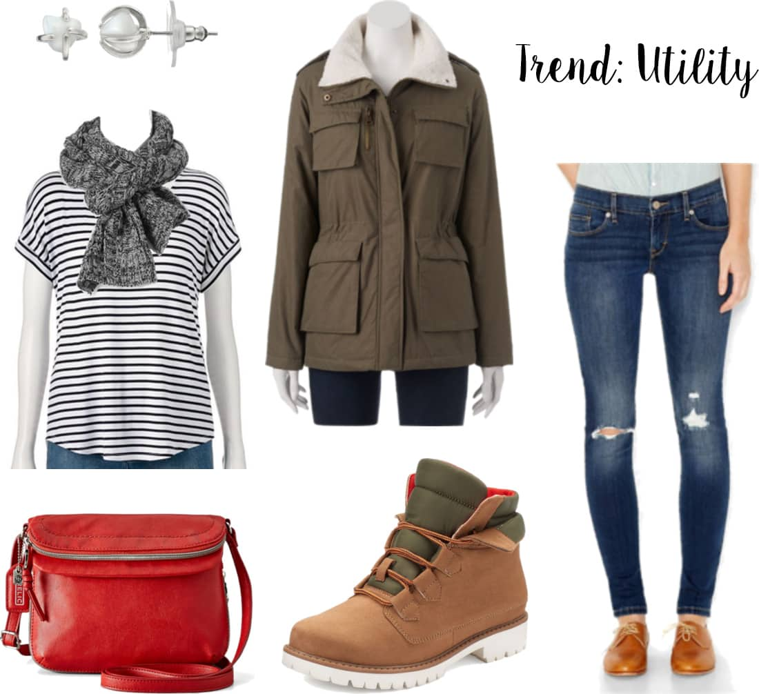 How to wear the utility fashion trend with Madden Girl x Kohl's