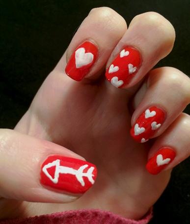 Valentine nails final