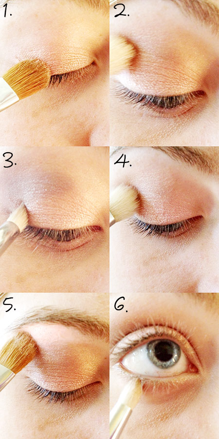Valentines eyeshadow tutorial