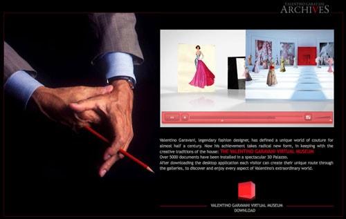 Valentino online museum