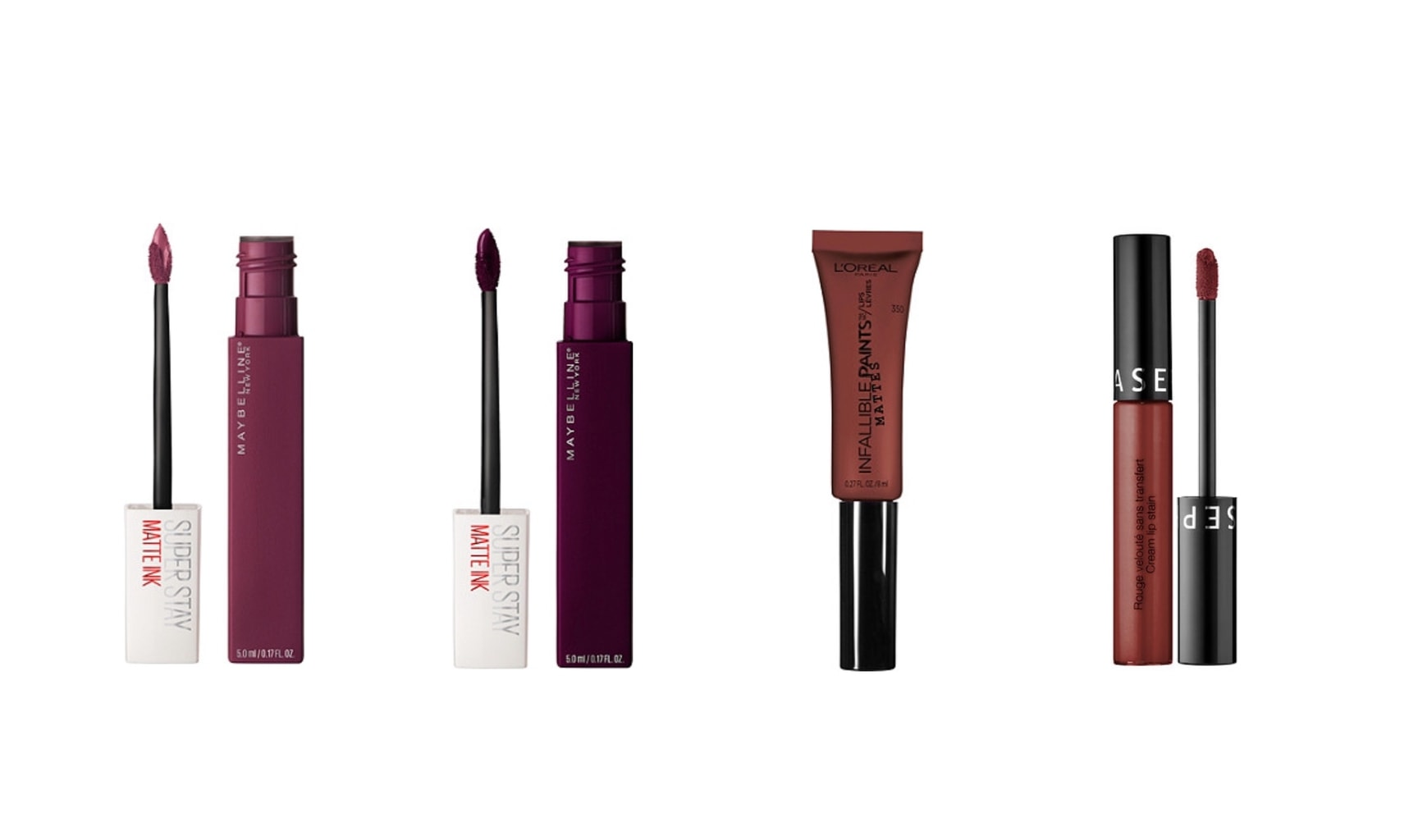 Fall makeup: Vampy lip colors are some of our favorite products for fall