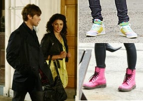 Vanessa on Gossip Girl's fashion style revolves around bright colors.
