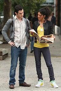 Gossip Girl's Vanessa Wearing Skinny Jeans