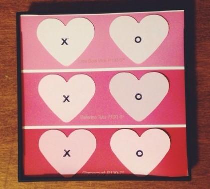 Valentine's Day Paint Chip Art