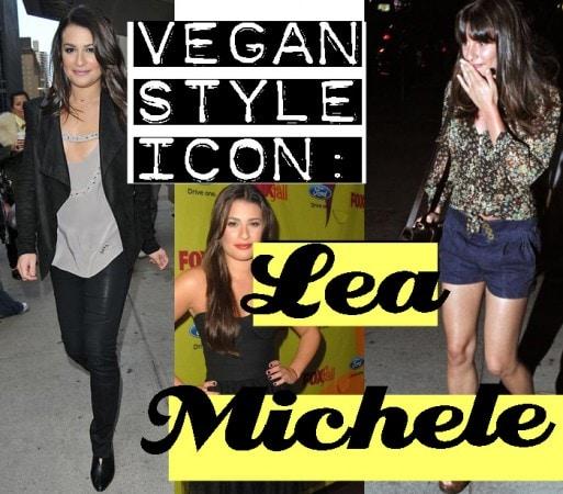 Vegan Style Icon - Lea Michele
