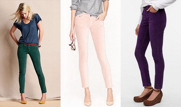 Velvet pants trend