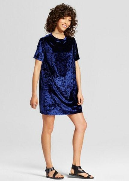 Target velvet dress