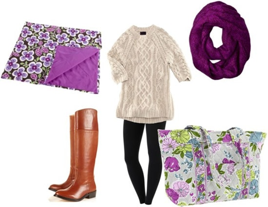Outfit inspired by Vera Bradley