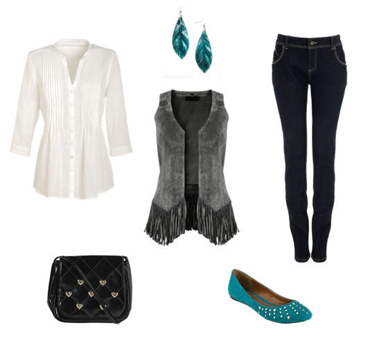 Fringed Vest Outfit