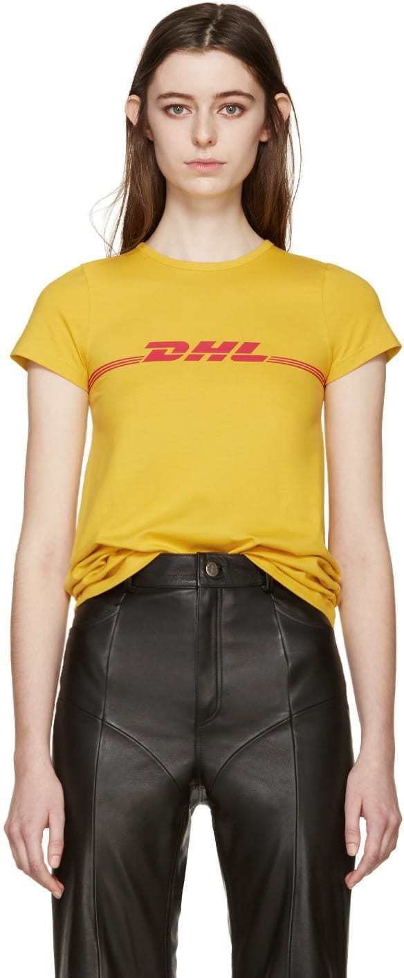 Vetements DHL tee