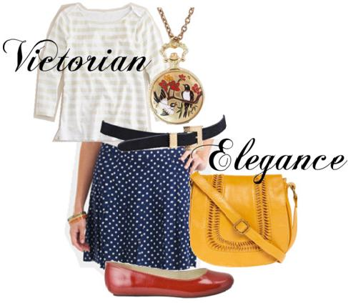 Outfit inspired by Victorian Elegance